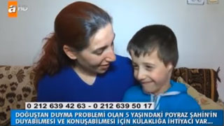 Poyraz'a Kemik Yolu İşitme Cihazı Desteği - ATV - Müge Anlı ile Tatlı Sert
